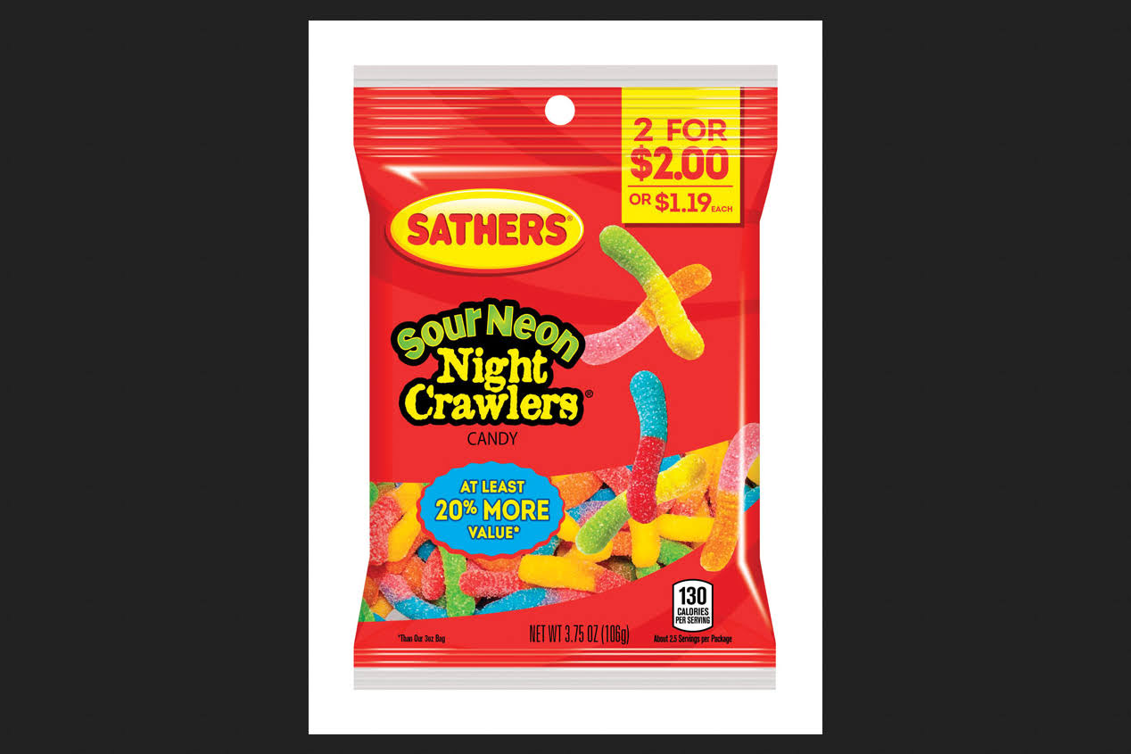 Sathers Sour Night CRAWLER3.75OZ