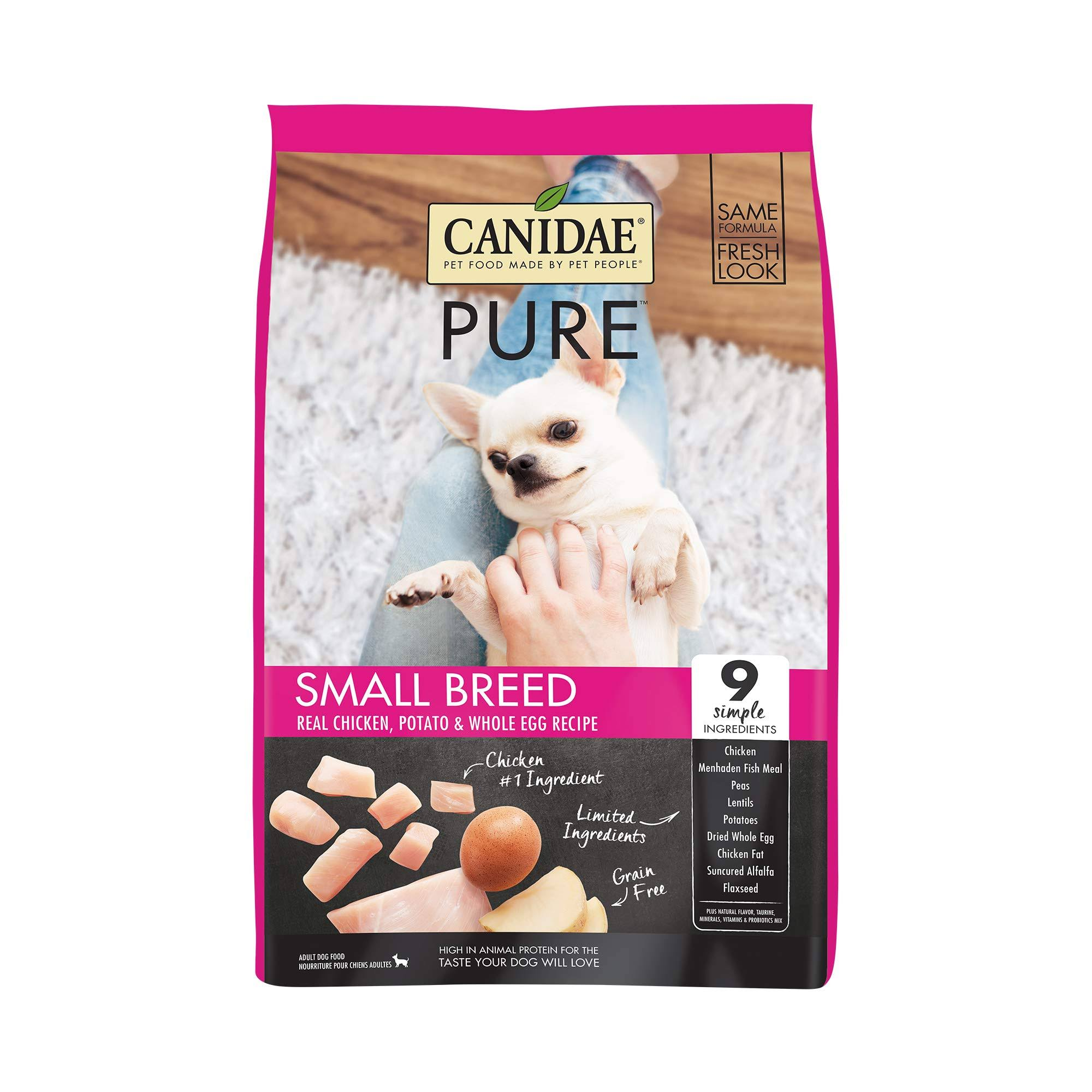 Canidae Grain Free Pure Dry Dog Food - Fresh Chicken for Small Breeds, 12lbs