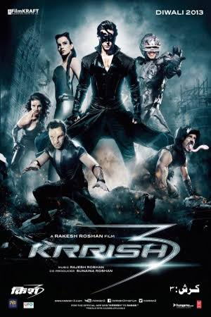 Krrish 3 2013 BluRay Hindi Movie Download Watch Online