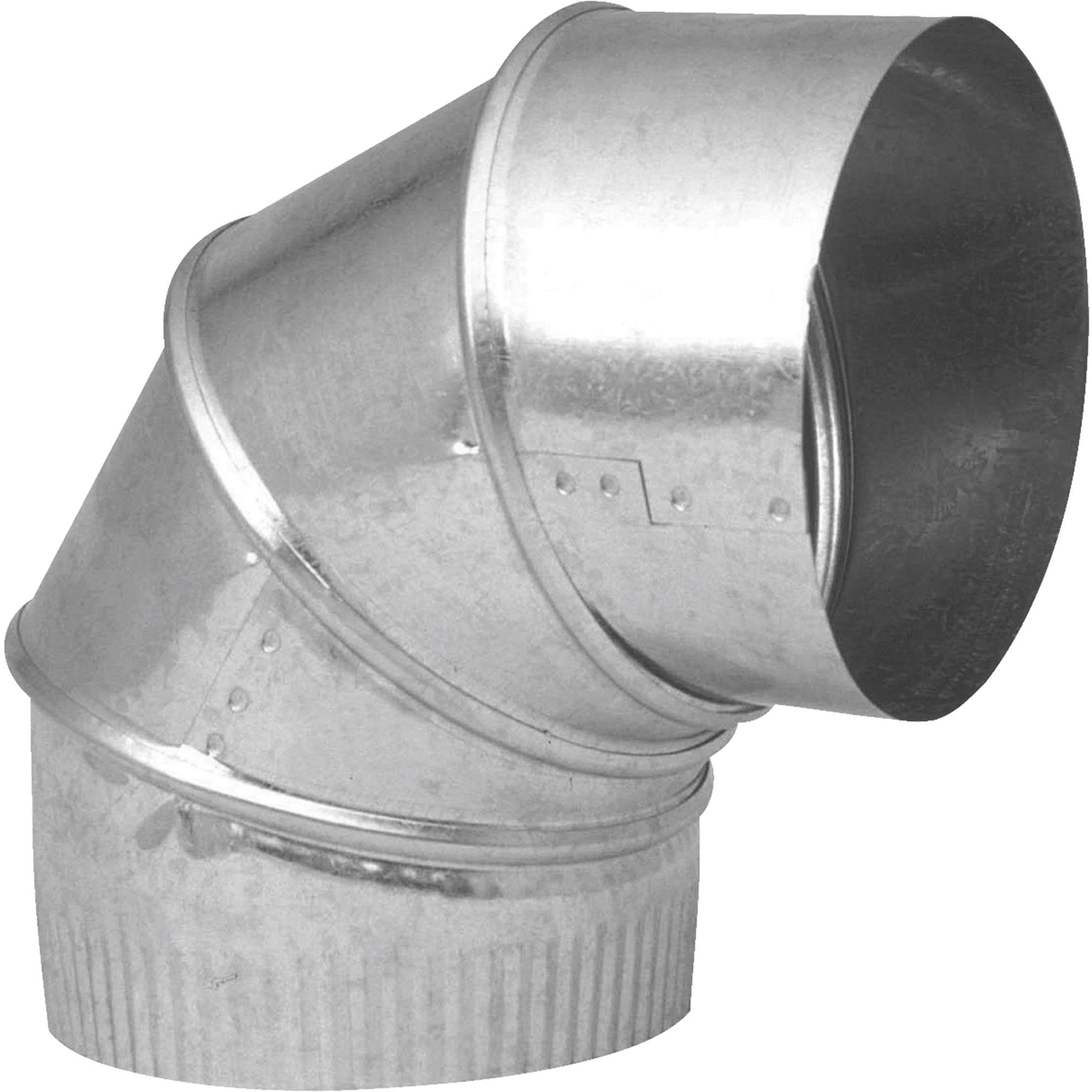 Imperial Manufacturing Group Galvanized Elbow - 28 Gauge, 3""