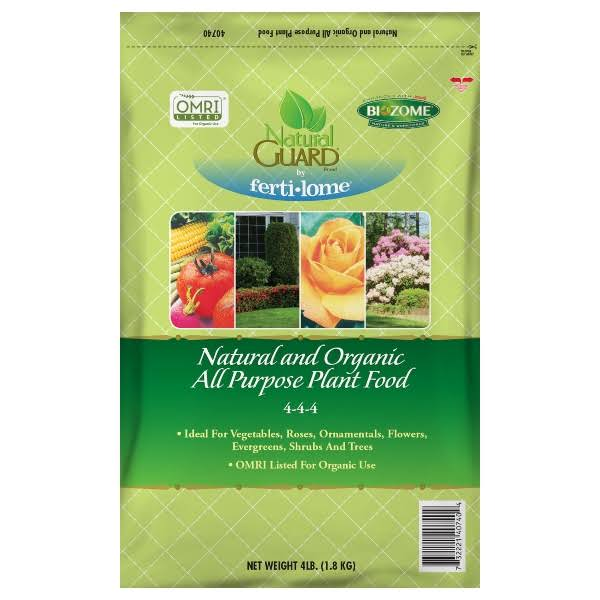 VPG Ferti-lome Natural Guard Natural and Organic All Purpose Plant Food 4 - 4 - 4