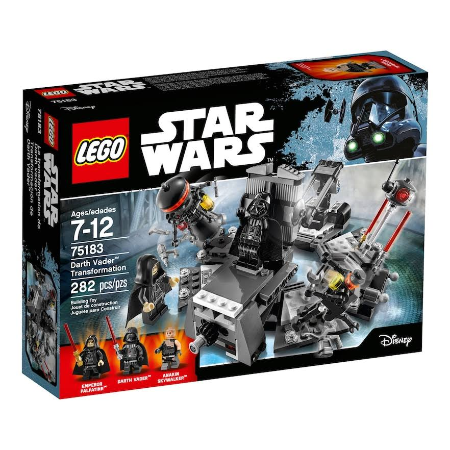 Lego 75183 Star Wars Darth Vader Transformation Set