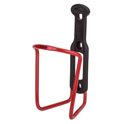 Zefal Echo Bottle Cage - Red/Black, 5mm Tube