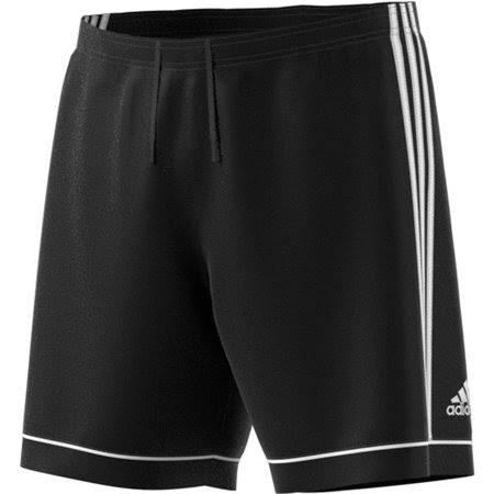 Adidas Soccer Squadra 17 Shorts - Black/White , Medium