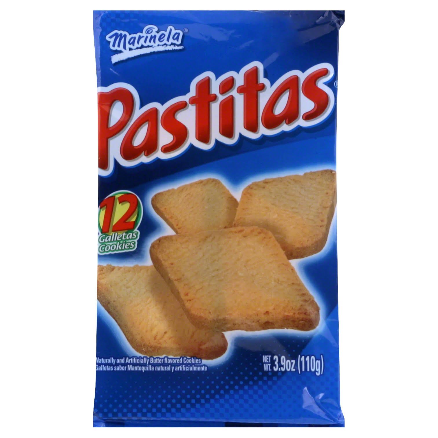 Marinela Pastitas Butter Cookies - 110g