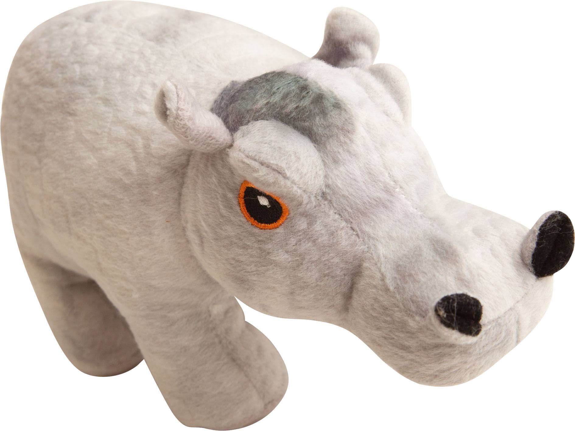 Snugarooz Grey Snugz Hank The Hippo 6 inch