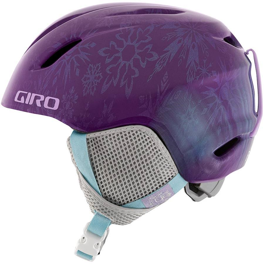 Giro Launch Plus Snow Helmet (Purple Disney Frozen, Small)