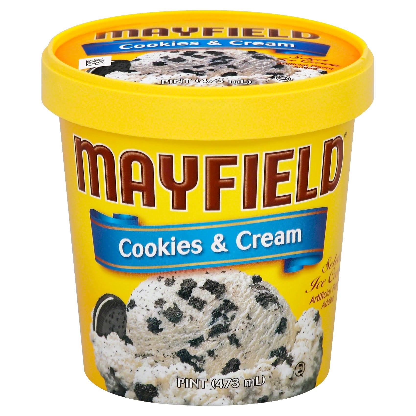 Mayfield Cookies & Cream Ice Cream - 1pt
