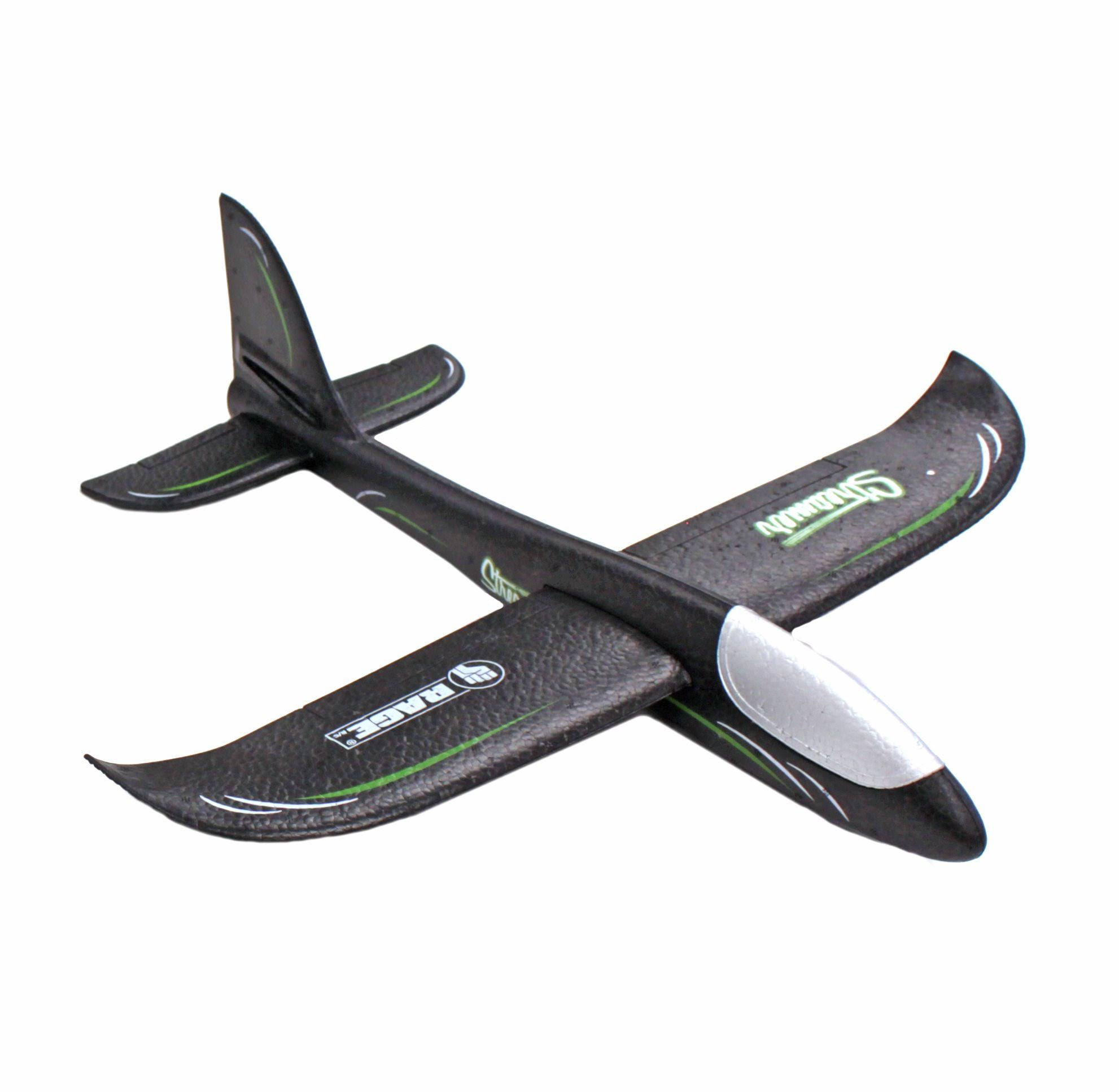Rage RC RGR9005 Streamer Hand Launch Glider Black