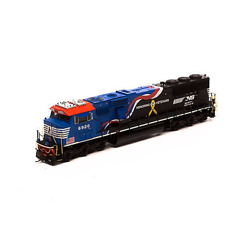 Athearn HO SD60E W DCC & Sound NS Honor Our Veterans #6920