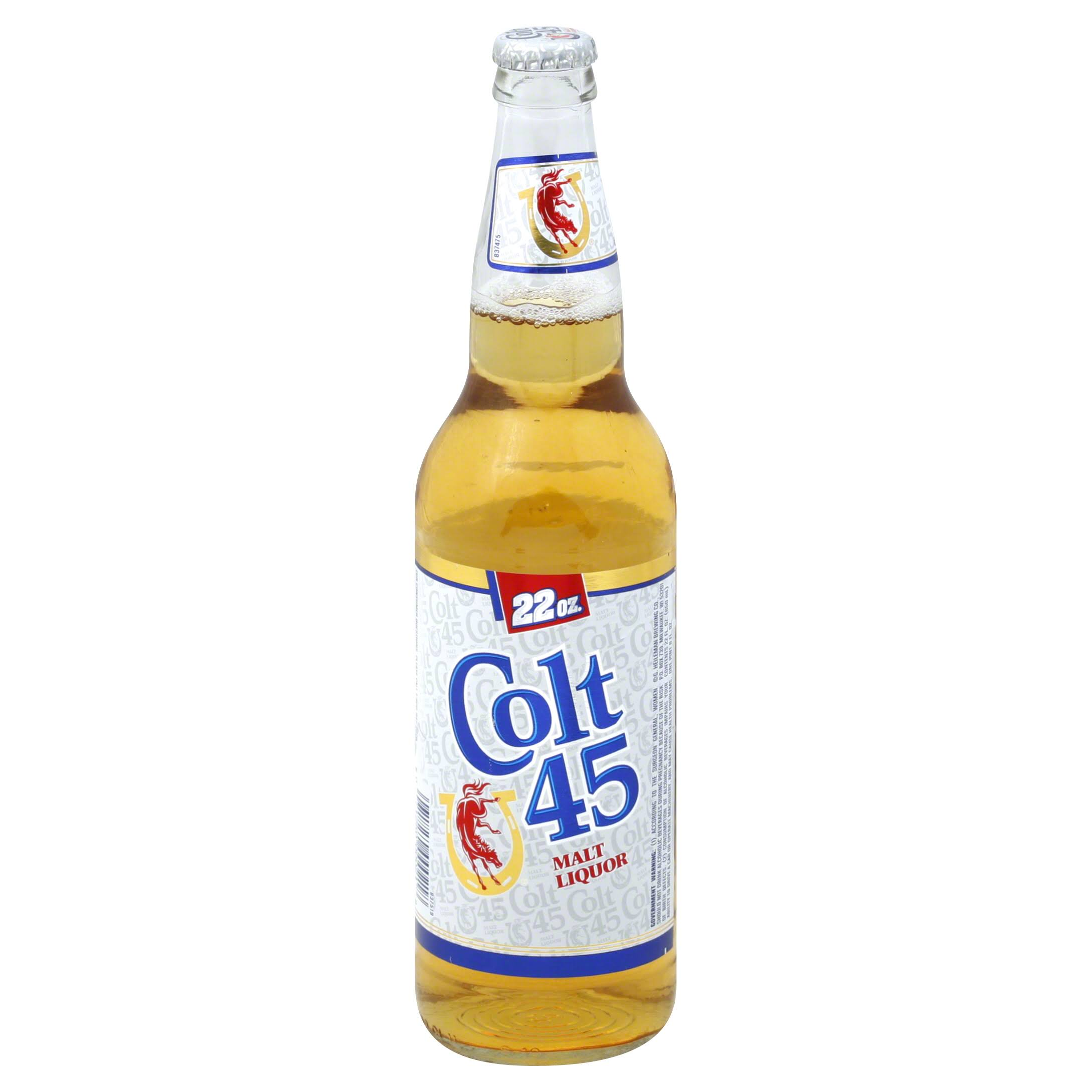 Colt 45 Malt Liquor Beer - 22oz