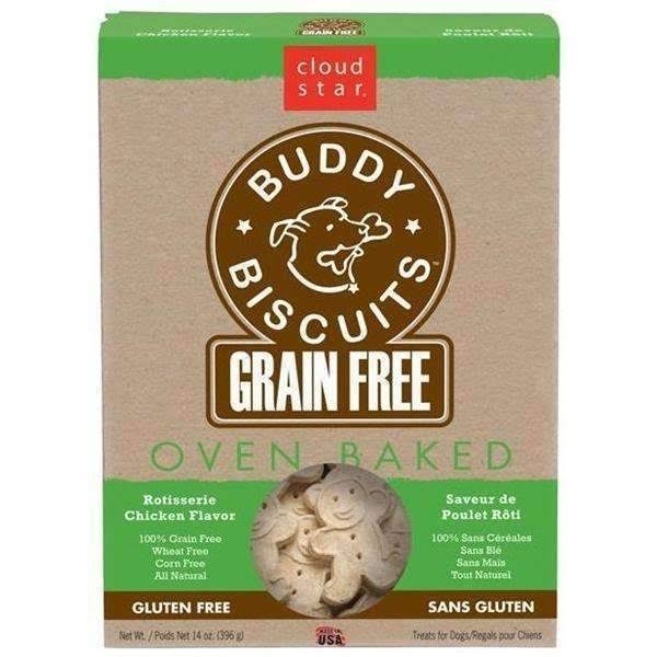 Cloud Star Grain Free Buddy Biscuits - Rotiserrie Chicken