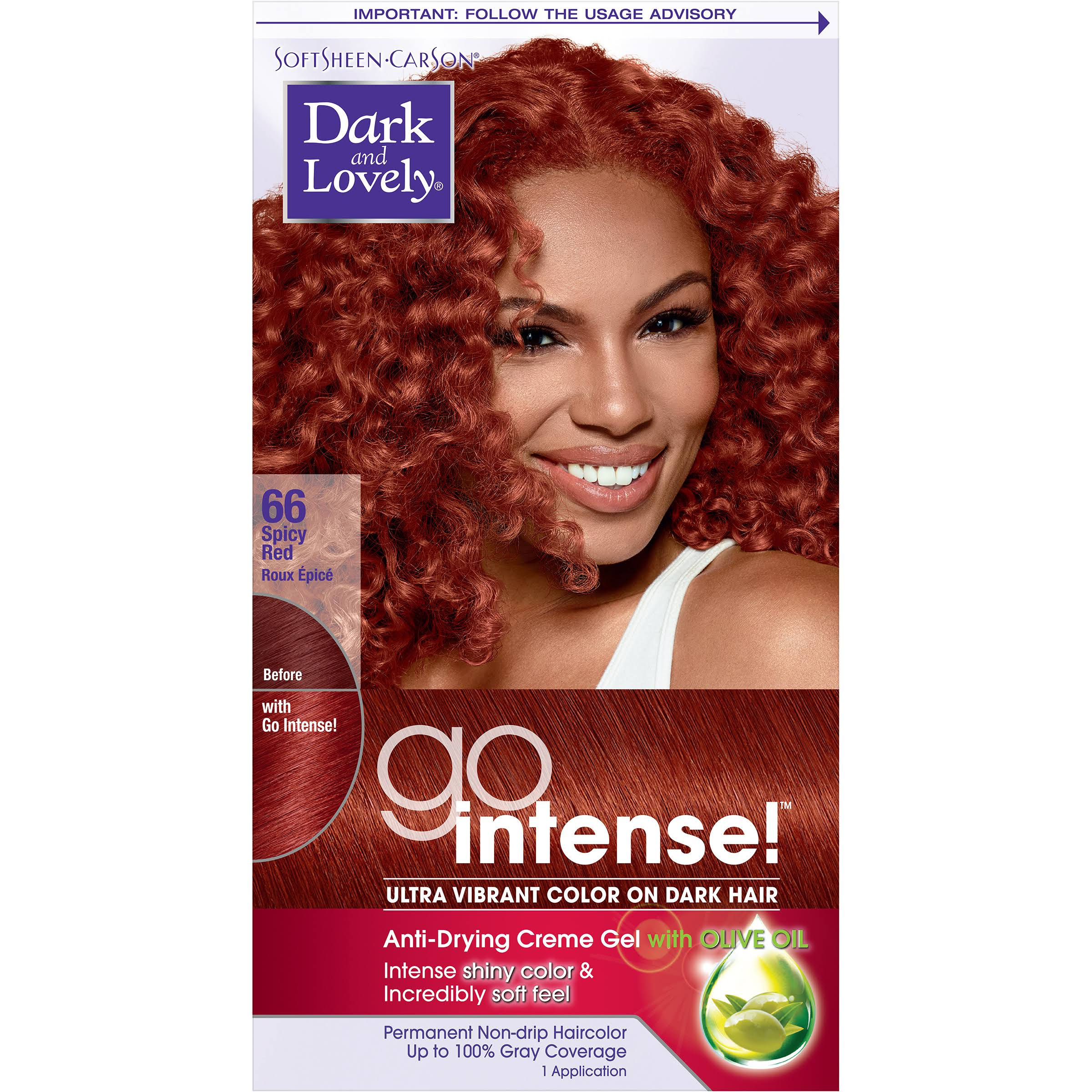 Softsheen Carson Dark and Lovely Go Intense Hair Color - Spicy Red