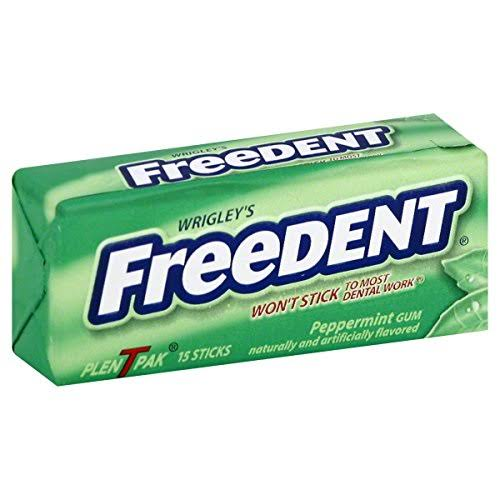 Wrigley's Freedent Gum - Peppermint