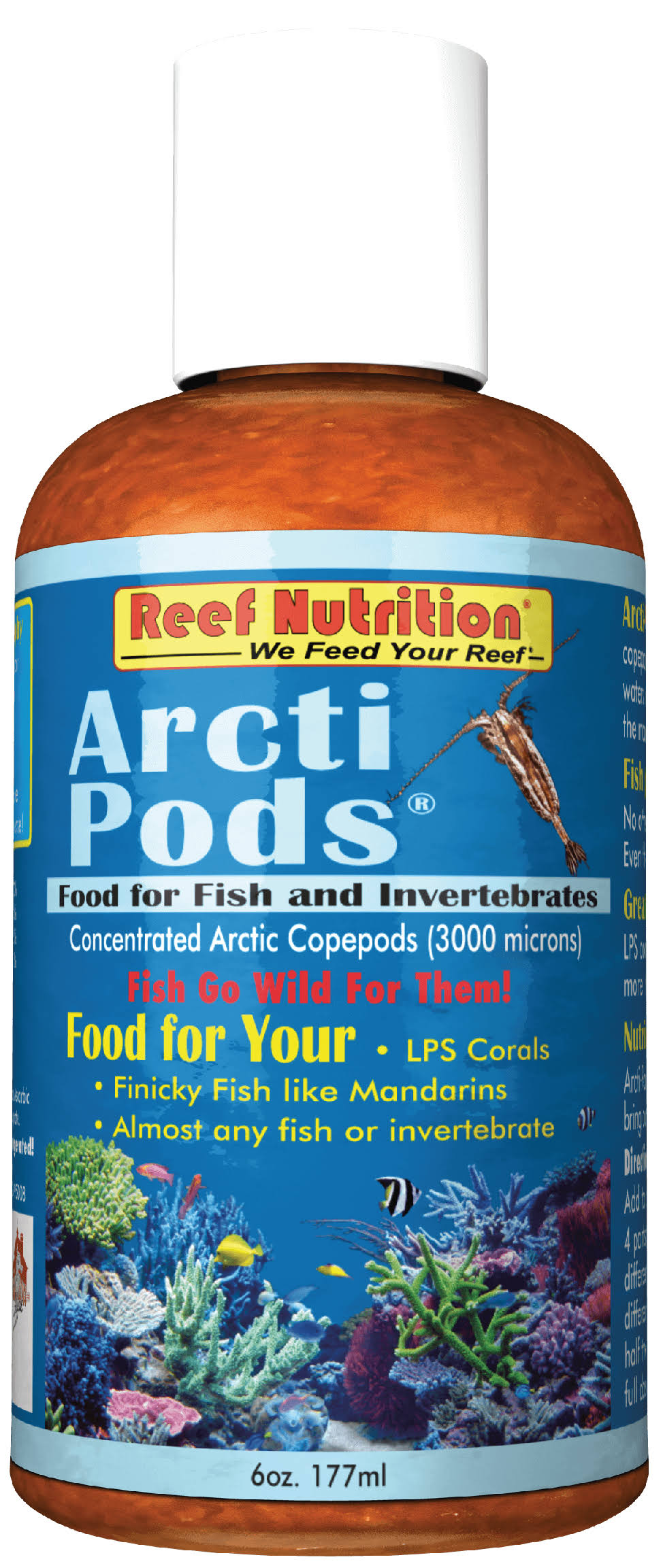 Reef Nutrition Arcti Pods Fish Food - 6oz