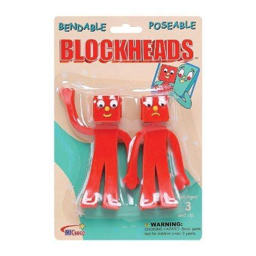 NJ Croce Gumby Blockheads Bendable Figure - 5""