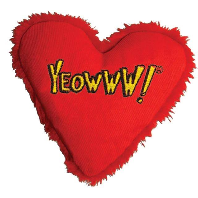 Ducky World Products Yeowww Heart Attack Catnip Toy