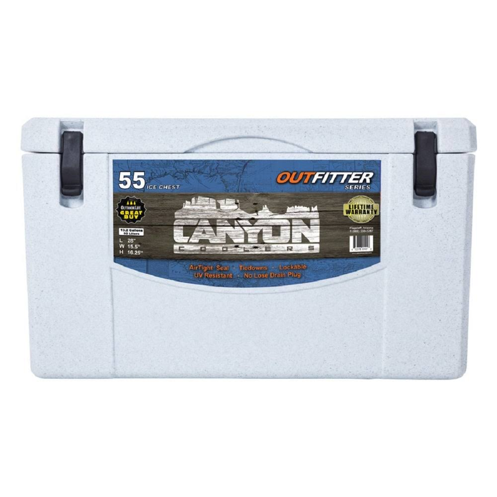 Canyon Coolers Outfitter Rotomolded Cooler - 55 Quart