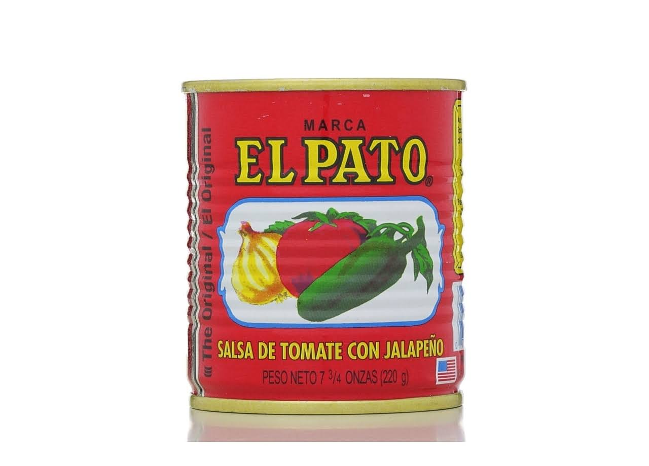 El Pato The Original Tomato Sauce - with Jalapeño, 7 3 - /4oz