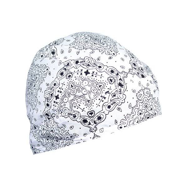 Zan Headgear 195770 Flydanna Headwrap 2013 - White Paisley