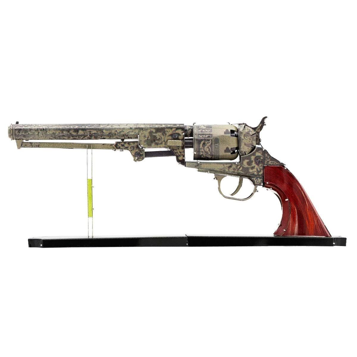 Metal Earth Wild West Revolver 3D Model Kit