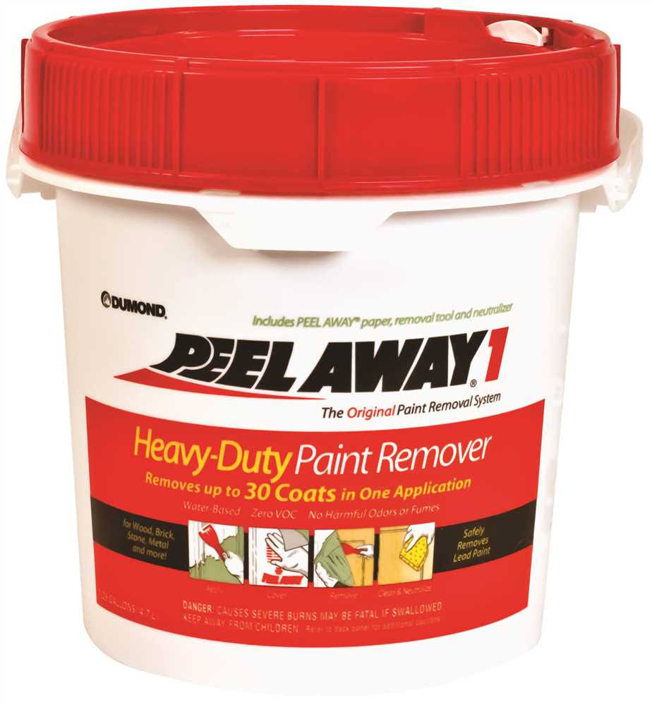 Peel Away Paint Remover Kit - 1.25gal