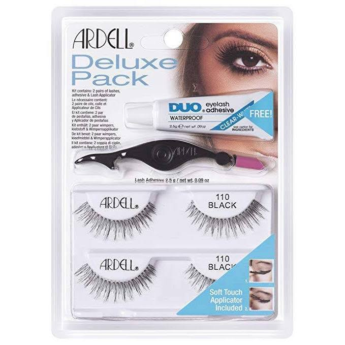 Ardell Deluxe False Eyelashes - 110 Black