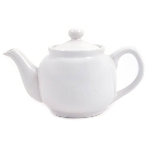Old Amsterdam Tea Pot - White