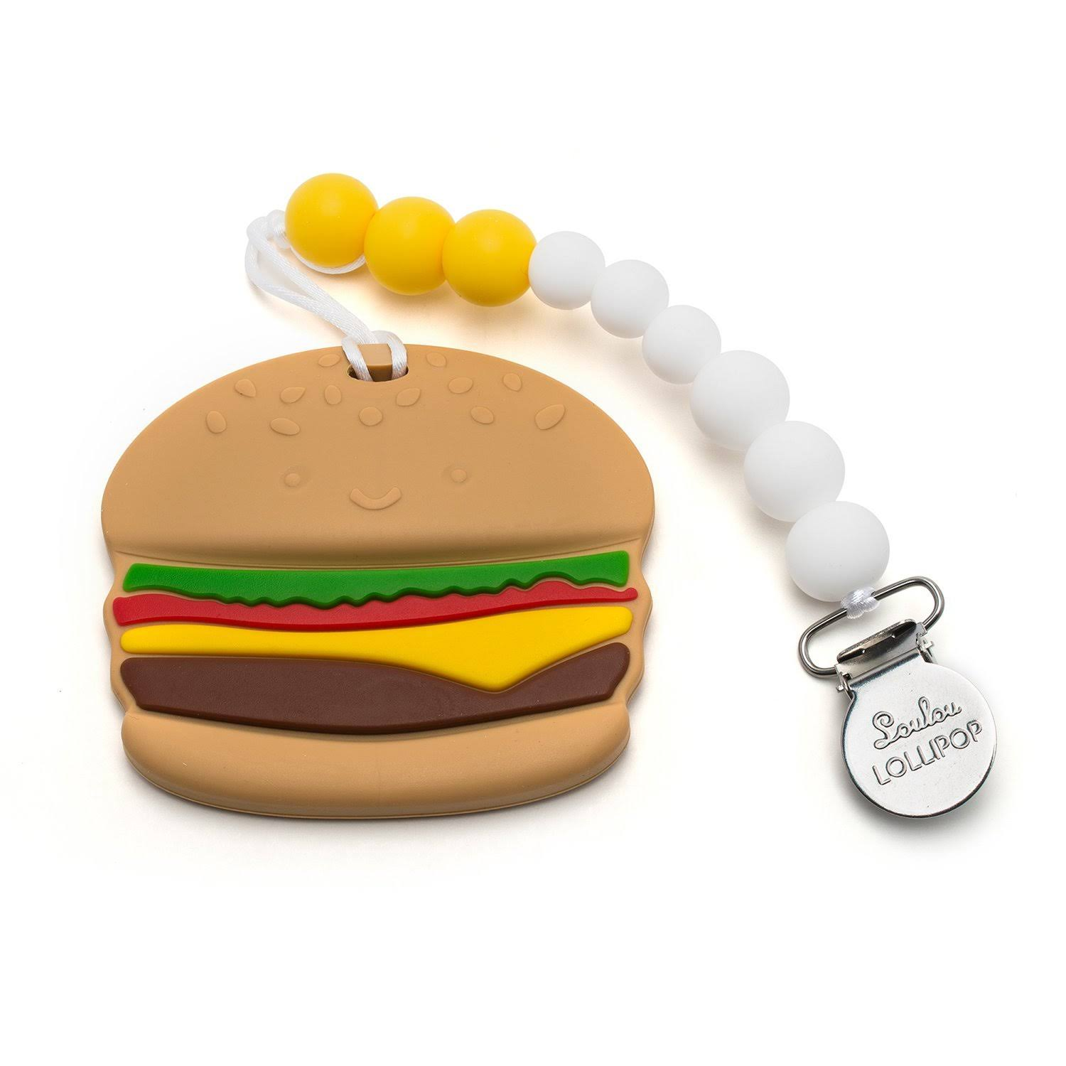 Loulou Lollipop Burger Teether Set