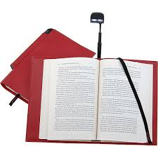 Periscope Book Light in a Cover - Red