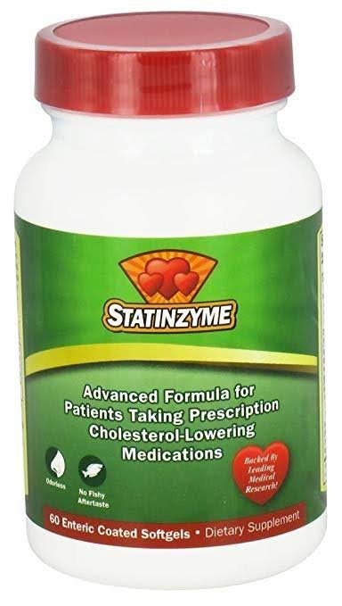 Statinzyme Advanced Formula Dietary Supplement - 60ct