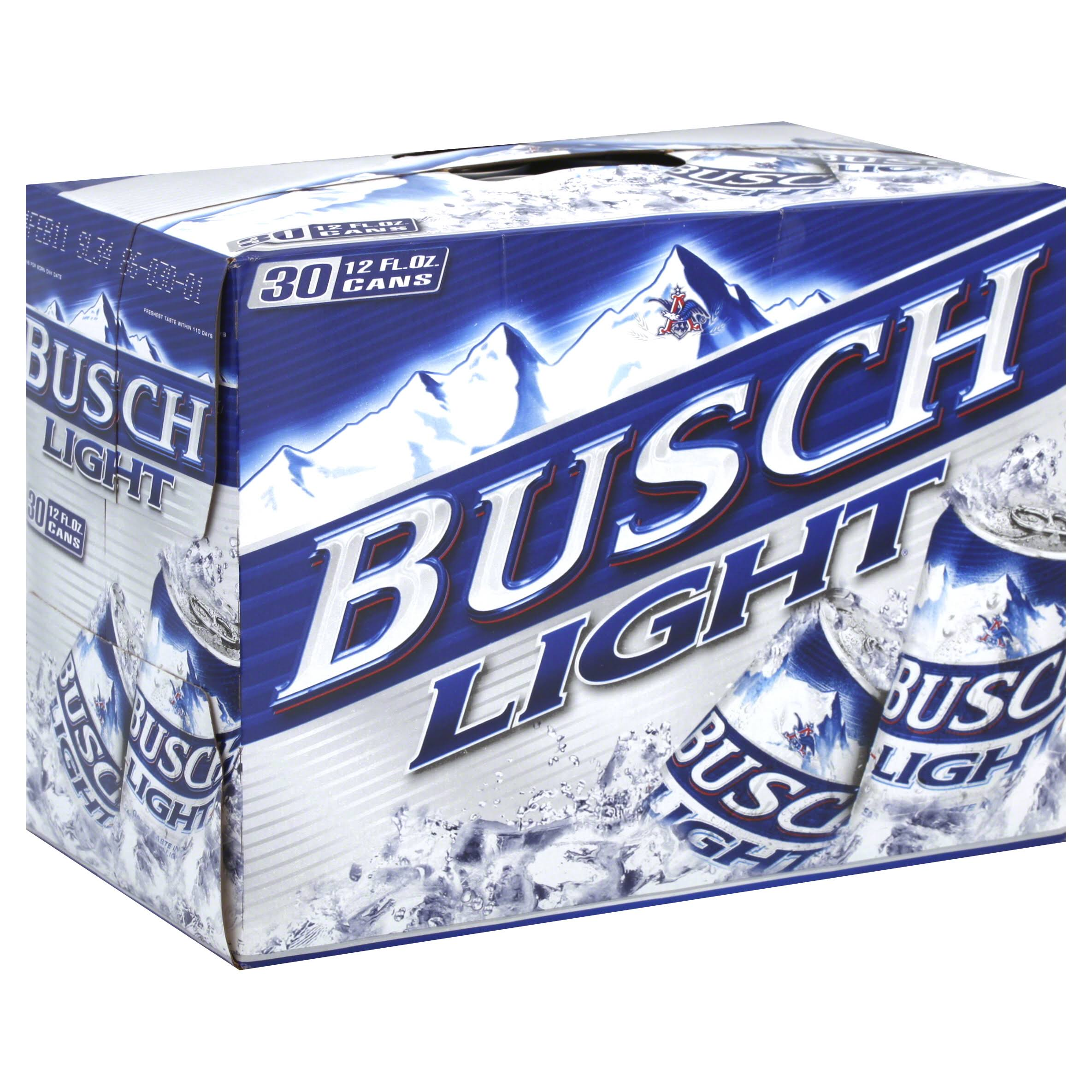 Busch Light Beer - 30 Cans