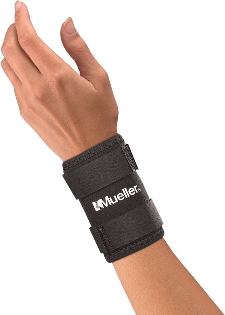 Mueller Neoprene Wrist Sleeve, Black, Large