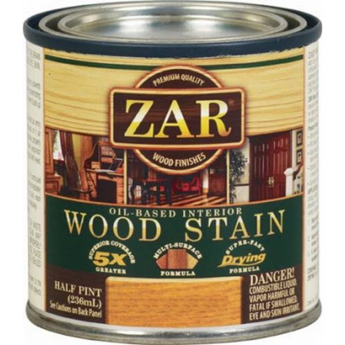 United Gilsonite 13806 Zar Oil Based Wood Stain - Half Pint, Spanish Oak, 236ml