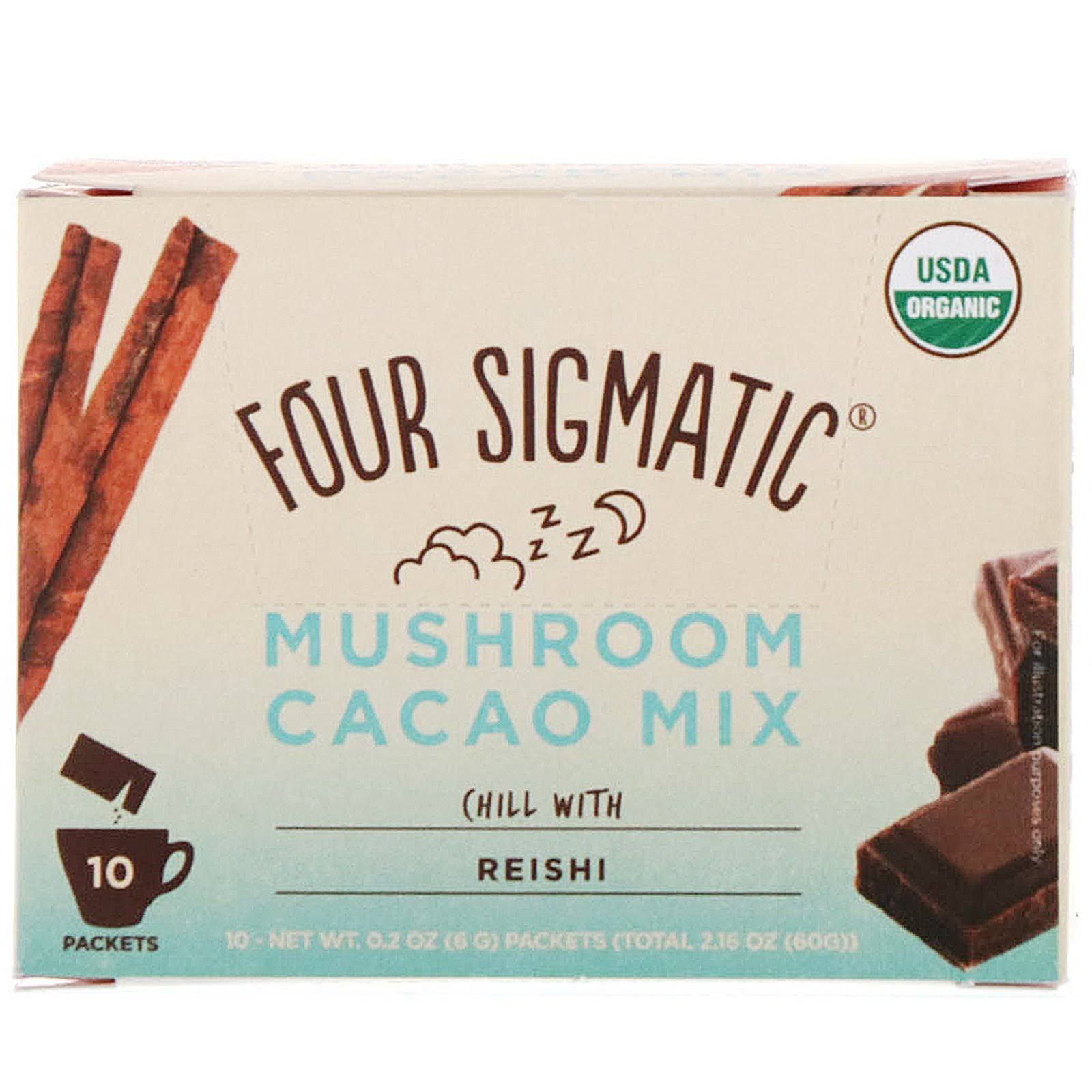 Four Sigmatic Mushroom Hot Cacao Mix - 10 Packets
