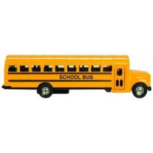 Toysmith School Bus - Large, 7""