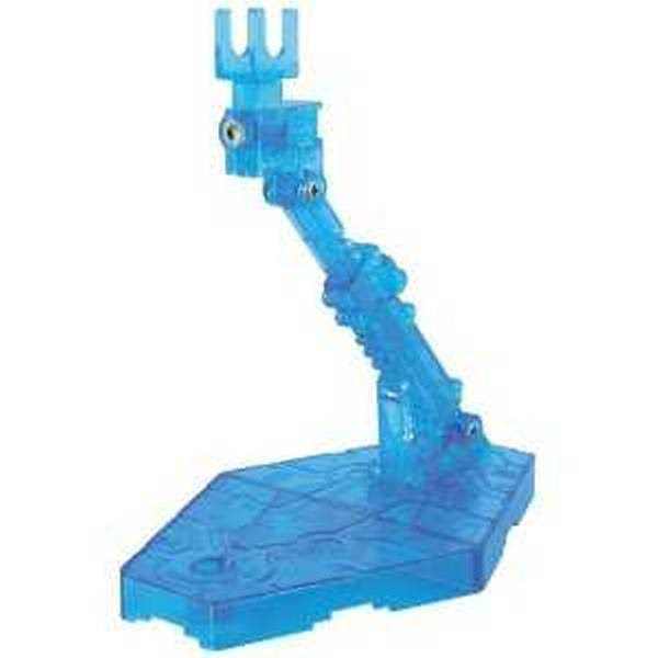 Bandai 1/144 Display Stand Action Base 2 Clear Blue