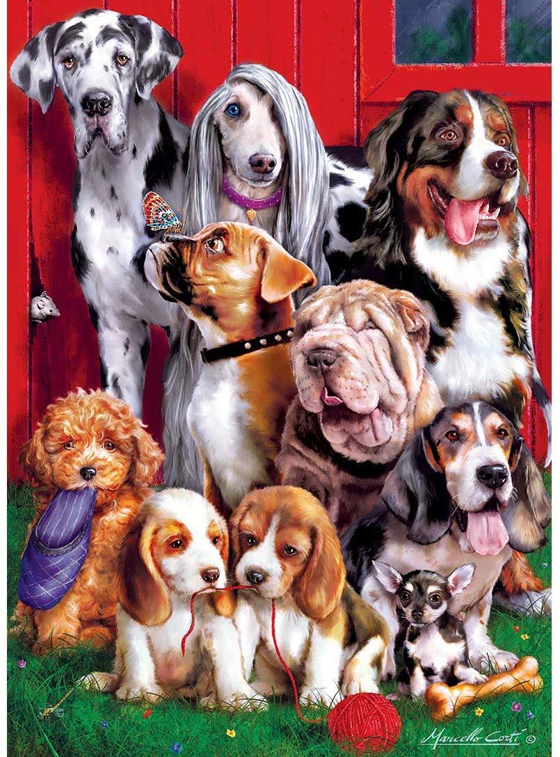 Masterpieces Furry Friends - Sitting Pretty 1000 Piece Puzzle