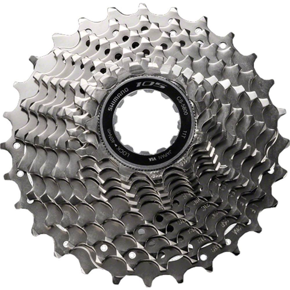 Shimano Bike Cassette - 11 Speed, Silver