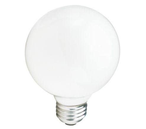 Philips G25 Decor Globe Light Bulb - 40W, White