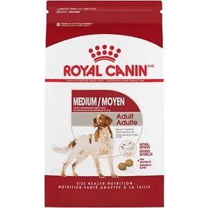 Royal Canin Adult Medium Dry Dog Food - 17lb