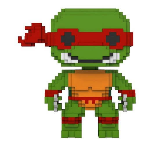 Funko Pop Teenage Mutant Ninja Turtles Vinyl Figure - Raphael, 8bit, 10cm