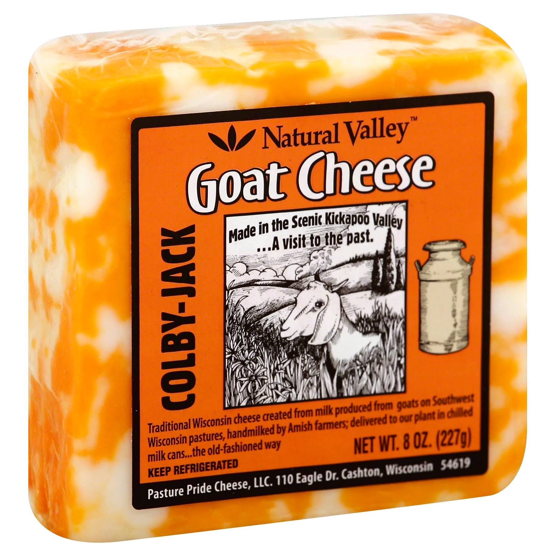 Nature Valley Colby Jack Goat Cheese - 8oz