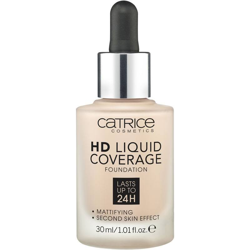 Catrice HD Liquid Coverage Foundation 010 Light Beige