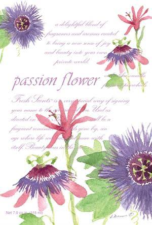 Fresh Scents Scented Sachets - Passion Flower