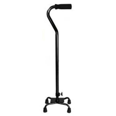 McKesson - Small Base Quad Cane Steel - 30 to 39 inch Height