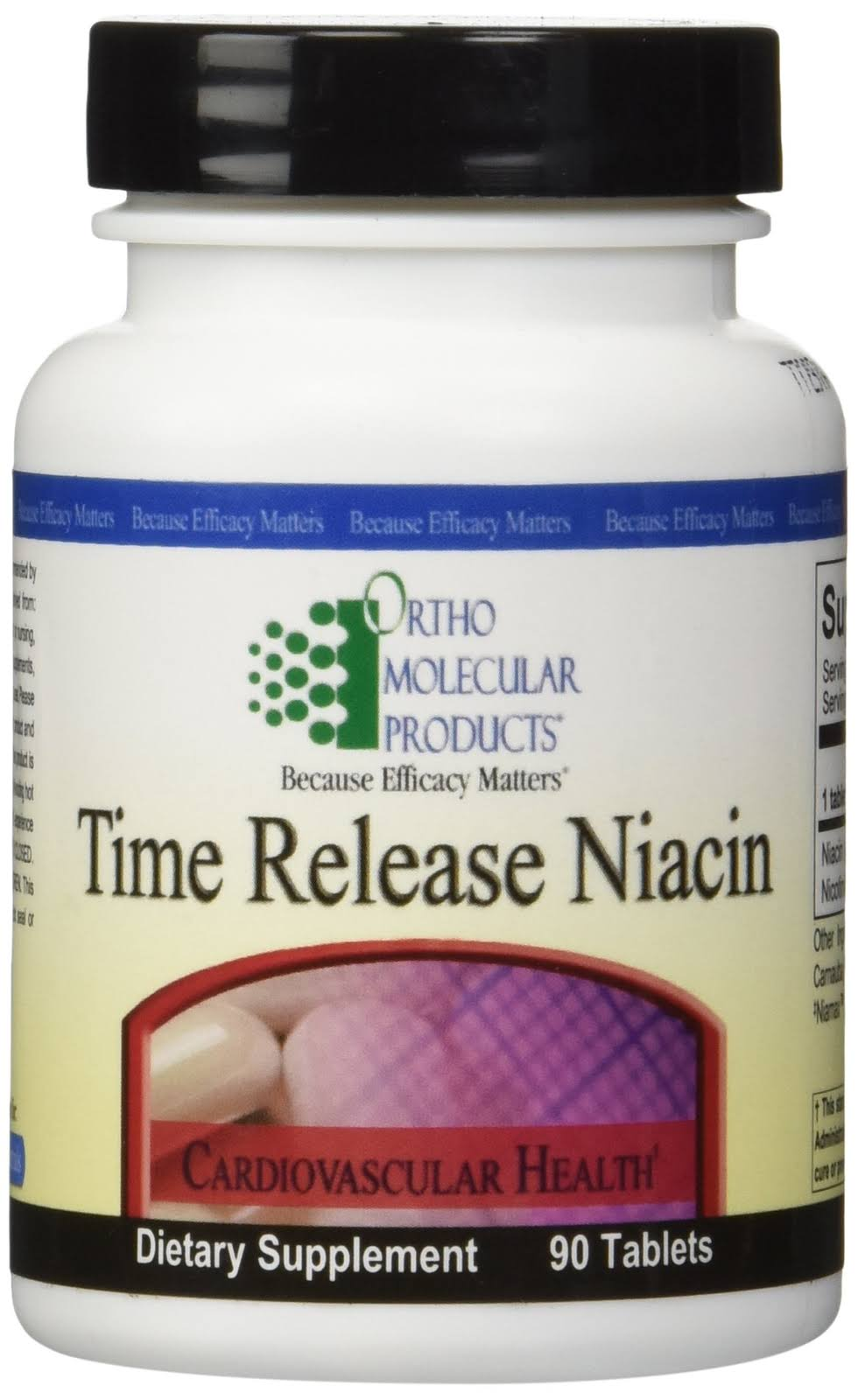 Ortho Molecular Time Release Niacin Dietary Supplement - 90ct