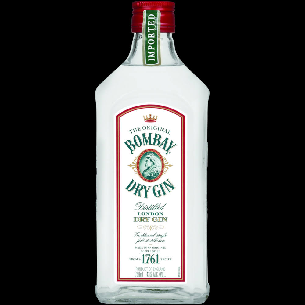Bombay Gin, London Dry, Distilled - 750 ml