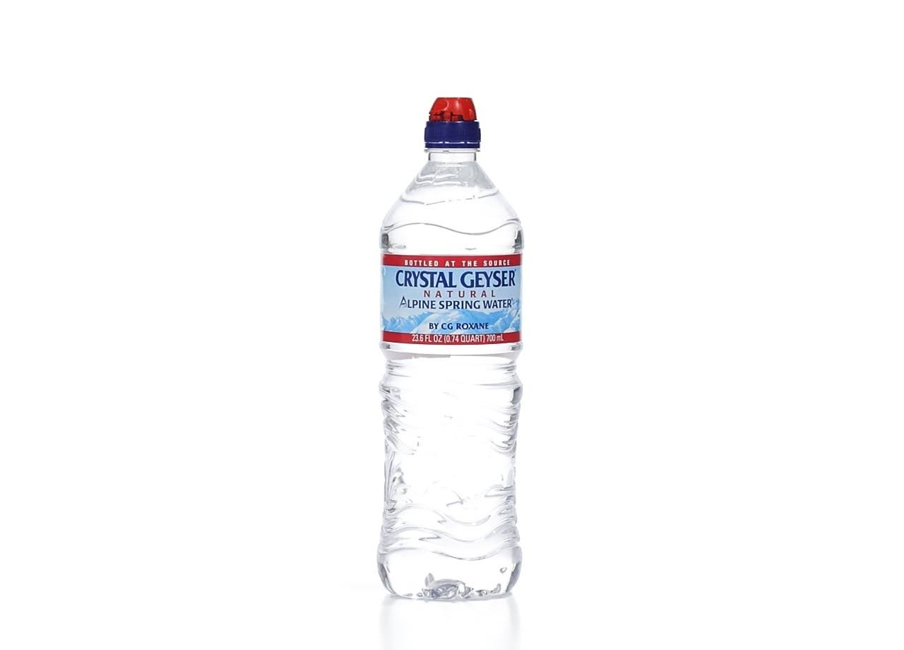 Crystal Geyser Alpine Spring Water - 23.6oz