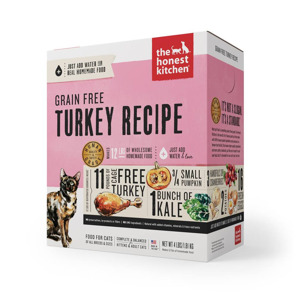 The Honest Kitchen Grace Grain Free Cat Food - Turkey, 2 Lb